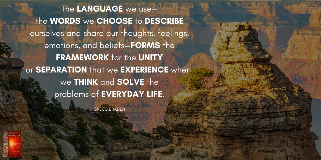 Pay attention to the words you use. They are incredibly powerful. #TheWisdomCodes