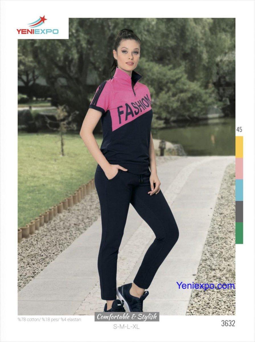 Women Ladies Comfortable Stylish Training Suit Short Sleeve Shirt Long Pants 3632 S-XL  #3632 #Comfortable #ladies #Long #Pants #S-XL #Shirt #Short #Sleeve #Stylish #Suit #Training #Women #YeniExpo #madeinturkey https://t.co/mMoU5otUb2