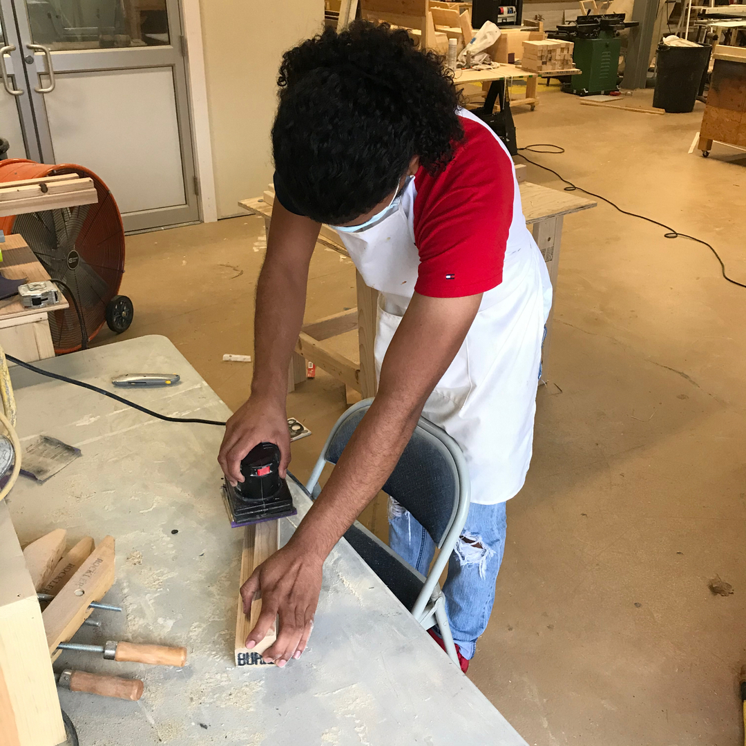 """""""  """"He who works with his hands and his head and his heart is an artist."""" -- Francis of Assisi  #carpentry #woodworking #renovation #craftsman #construction #lawrencema #sisu978 #nonprofit #teamwork #community https://t.co/w5WdeTkVGd"""