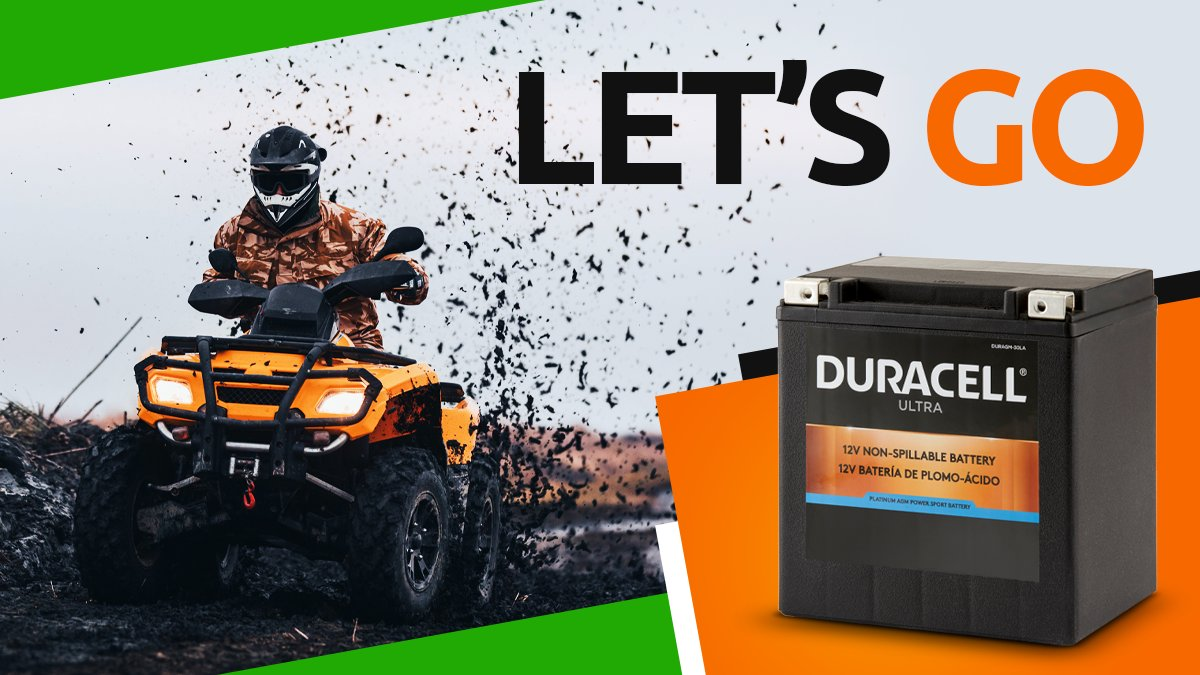 The trails are calling. Let's go. Power your ATV with a durable, reliable battery from Batteries Plus Bulbs. Shop now. https://t.co/drp2t0yTMr  #atv #battery #offroad #quad #atvriding #mudding #quadlife https://t.co/g2teghHG9Q