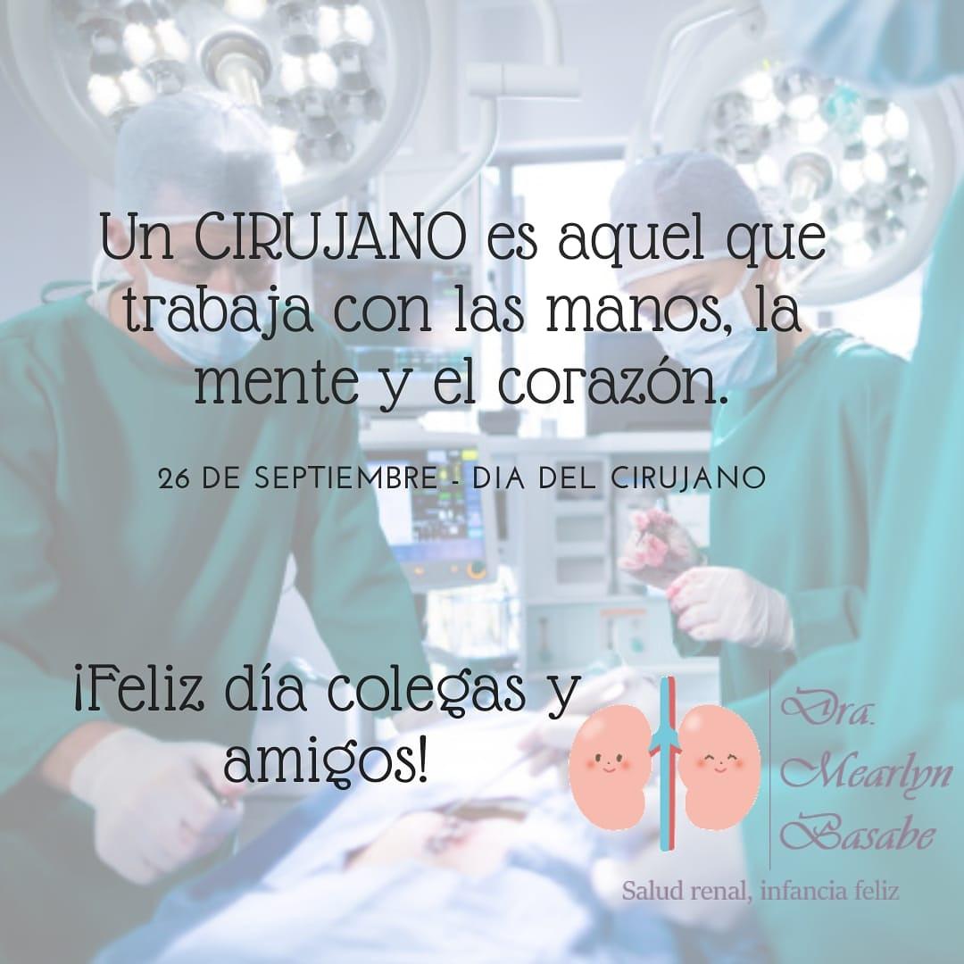 Feliz día del #cirujano. https://t.co/hHYCAC2DQK