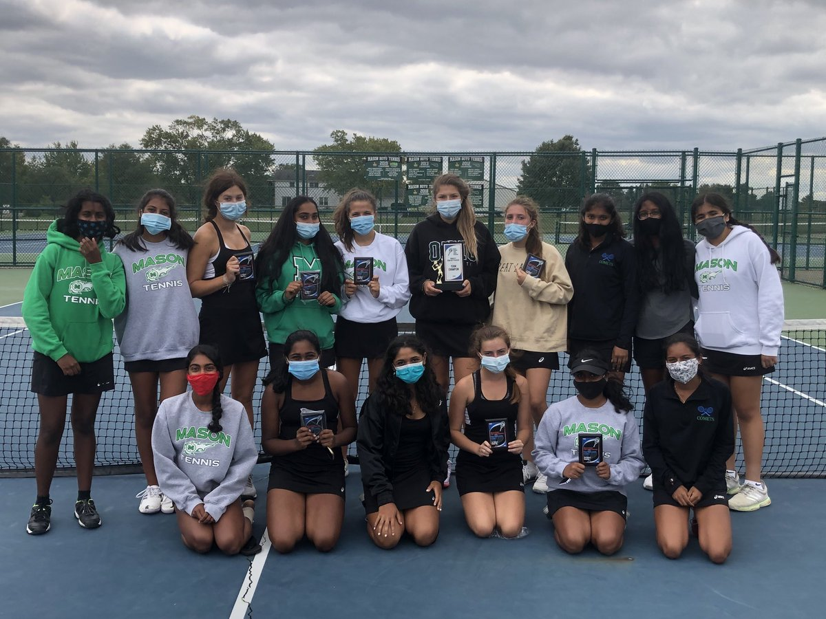 Comets win GCTCA Coaches' Classic  Team Championship.   Individual Comet Results:  Aggarwal runner-up at #1 singles  Tonkal wins #2 singles  Cosimi runner-up at #3 singles  Kruse- Ra Chada win #1 doubles.  Reid-Lebedev runner-up  Ri Chada and Shruthi Datla win #2 doubles https://t.co/19LJTu5Dby