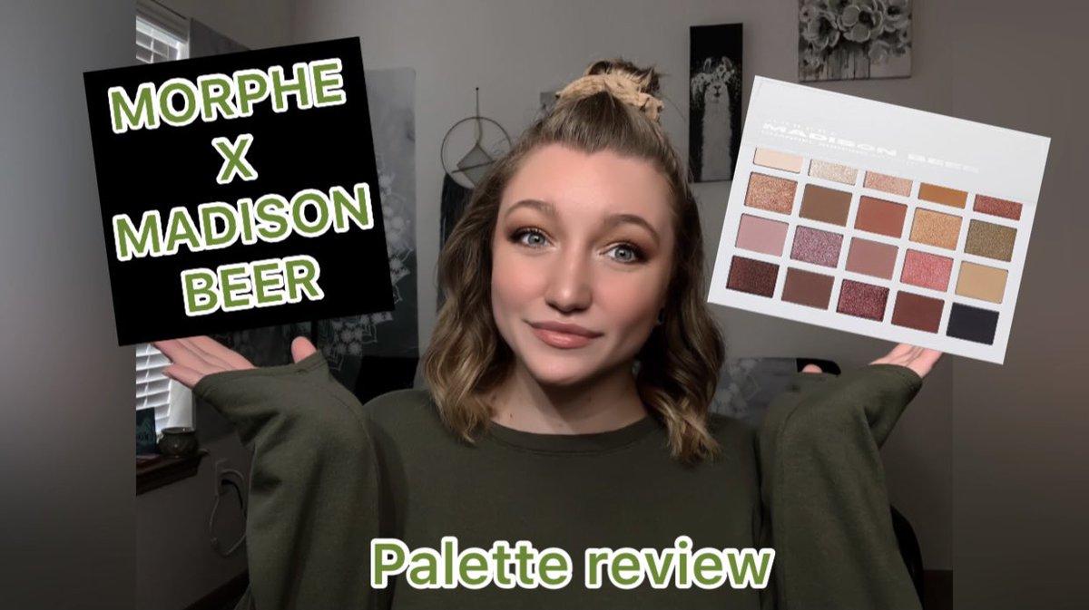 NEW VIDEO https://t.co/OpnyTyLUCJ @MorpheBrushes @madisonbeer #Morphe #makeup #YouTubers #YouTubeVideo https://t.co/S1dp2zKl72