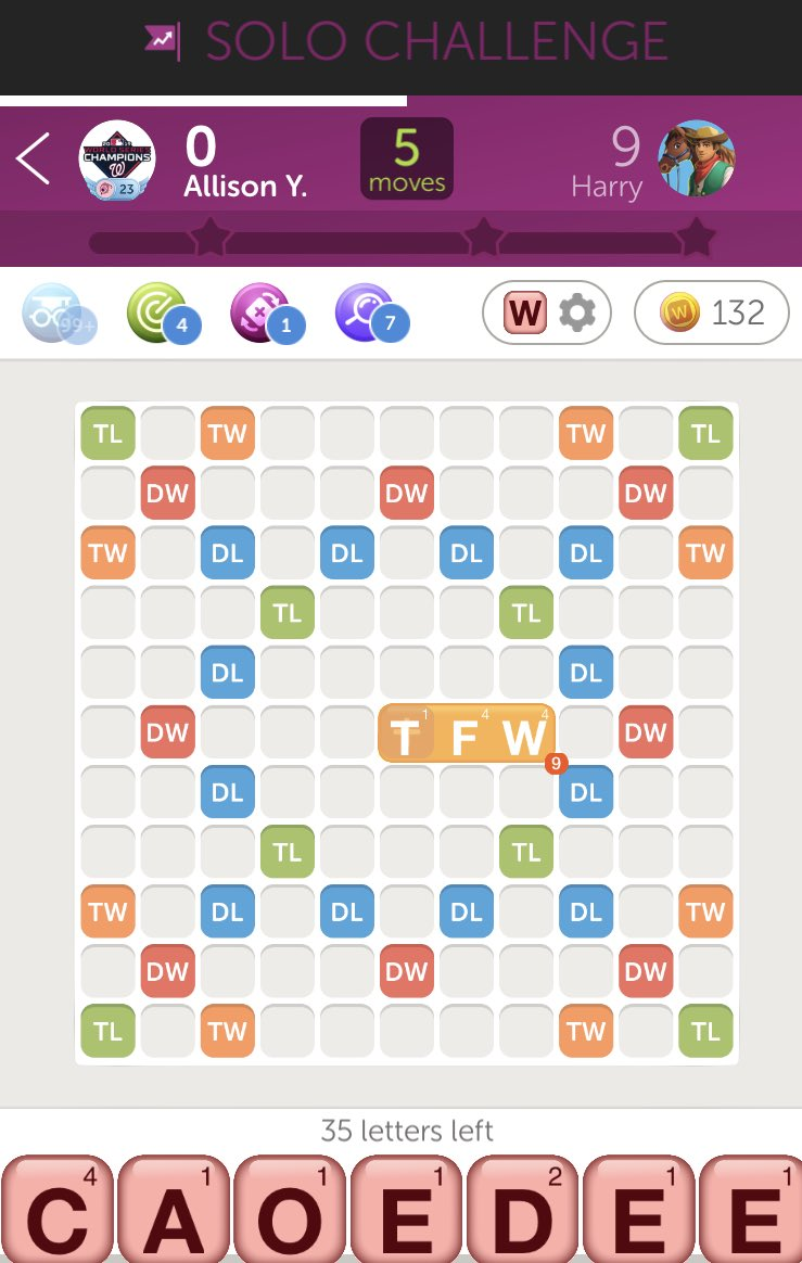 ⁦@WordsWFriends⁩ TFW TFW  becomes an official word in #WWF. Really? https://t.co/RXbYNdJVXA