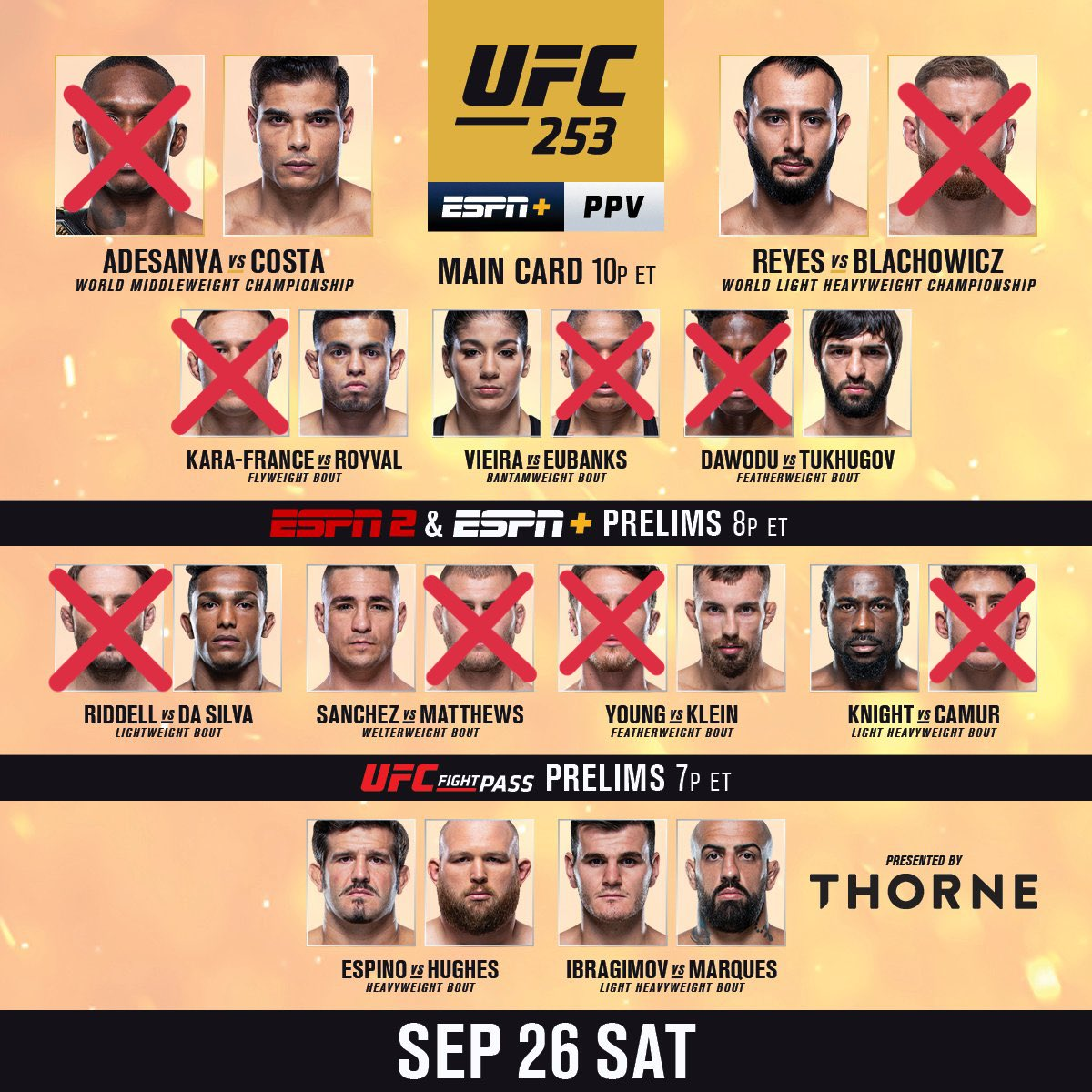Yooo, #RENfam! IT'S FIGHT DAY!! Here are my #UFC253 #Predictions!  LETS GOOO!! 💯🔥🍿   #ufc #mma #bjj #muaythai #kickboxing #jiujitsu #wrestling #martialarts #fighter #mmafighter #karate #judo #grappling #ufcfightnight #brazilianjiujitsu #ufcfightnight #mmafighter #ufcnews https://t.co/psMyJ5pKLX