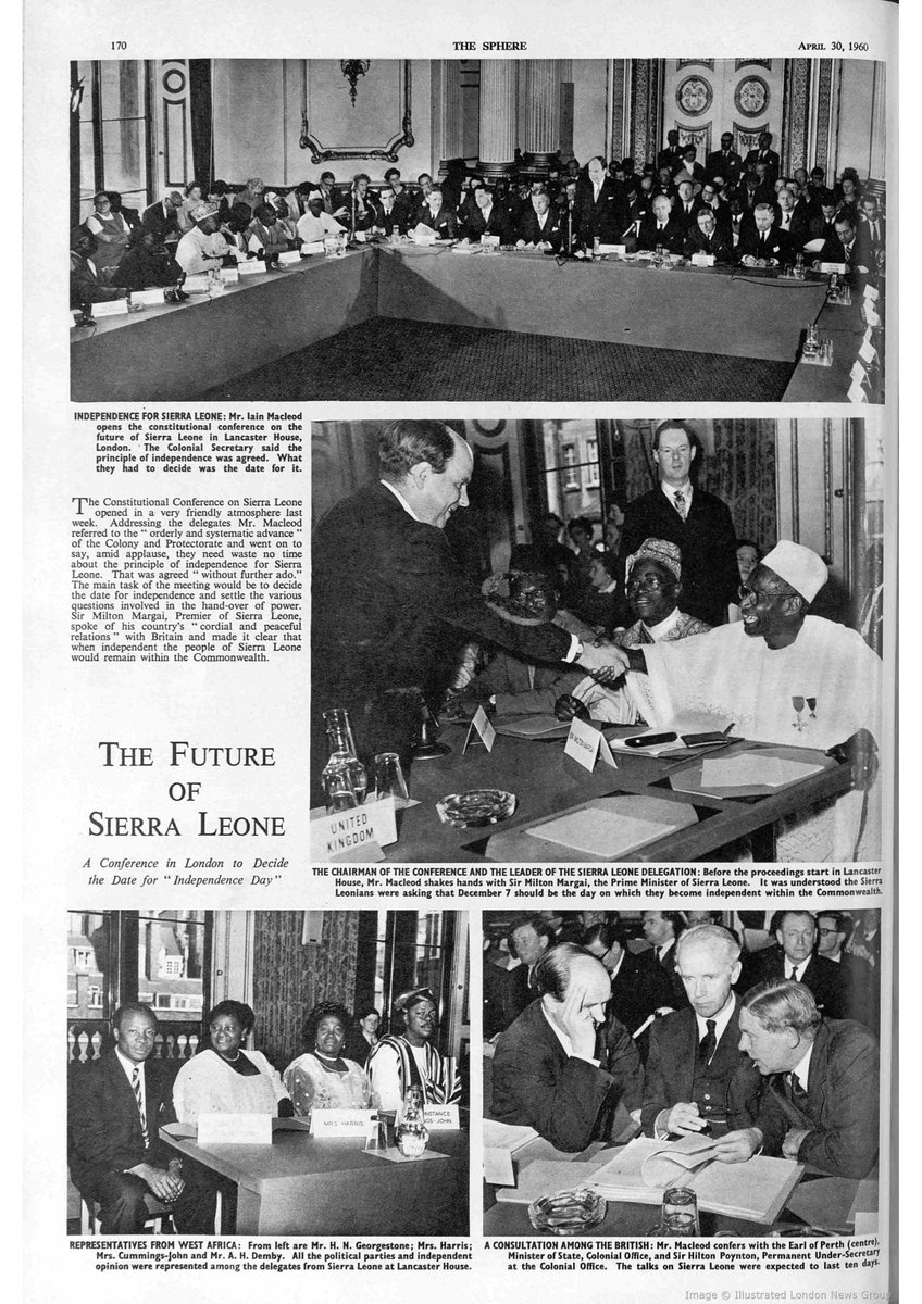 More images from the 1960 'Future of #SierraLeone' Conference in #London https://t.co/6dFAc0VQFD