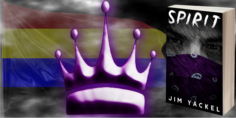#NewBook The colors of the New World Order are red, yellow, blue, and black.  Still, the color of royalty remains purple.  'Spirit: A Wayfarers Story' is a tale for today. It's #fiction, or is it? https://t.co/5lv2U3EGV4  #EndofDays #PostApocalyptic #Mystery #BookBoost #IARTG https://t.co/tHVPeWGQts