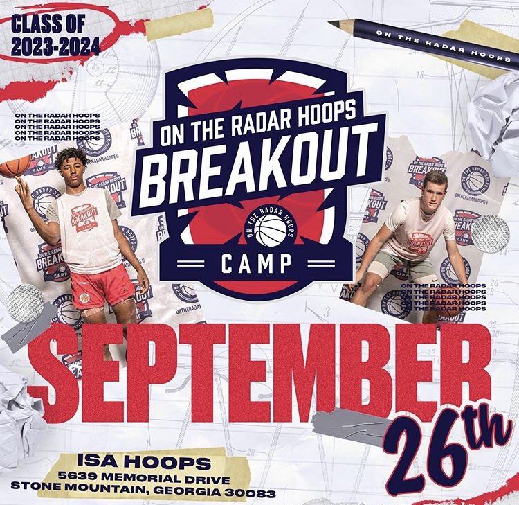 #OTRBreakoutCamp  The Gym was packed today with talent as always @OntheRadarHoops Breakout Camp!  Get your Official📹Highlights from your games Here⬇️⬇️⬇️ https://t.co/hx80FXHCld https://t.co/0g9E9ZyhS3