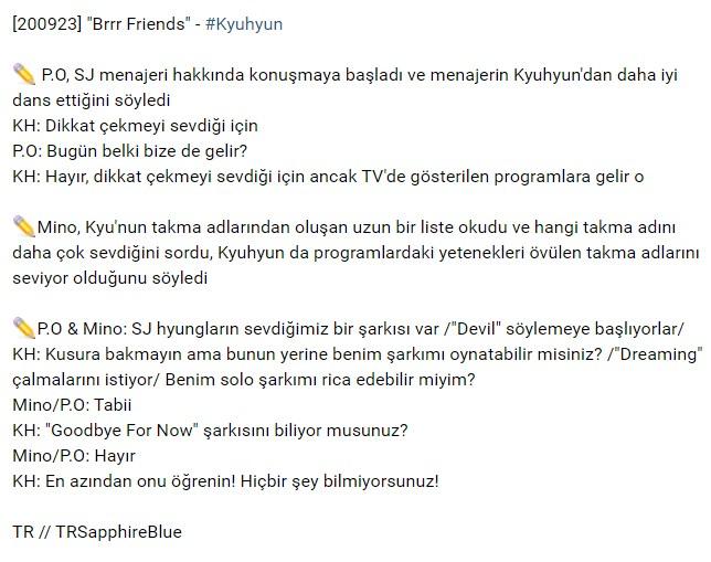 "[200923] ""Brrr Friends"" - #Kyuhyun https://t.co/jEPCdaiyP1"