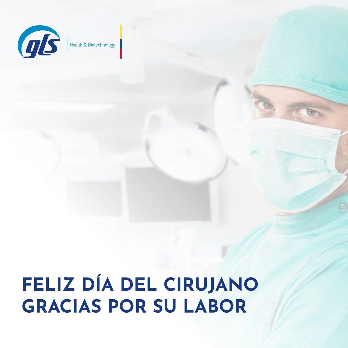 Desde GLS queremos felicitarlos en su día y agradecerles por su gran labor 🙌🏻👩🏼⚕️🧑🏼⚕️ #cirujano #medicina #salud https://t.co/9Ef2smRS5F
