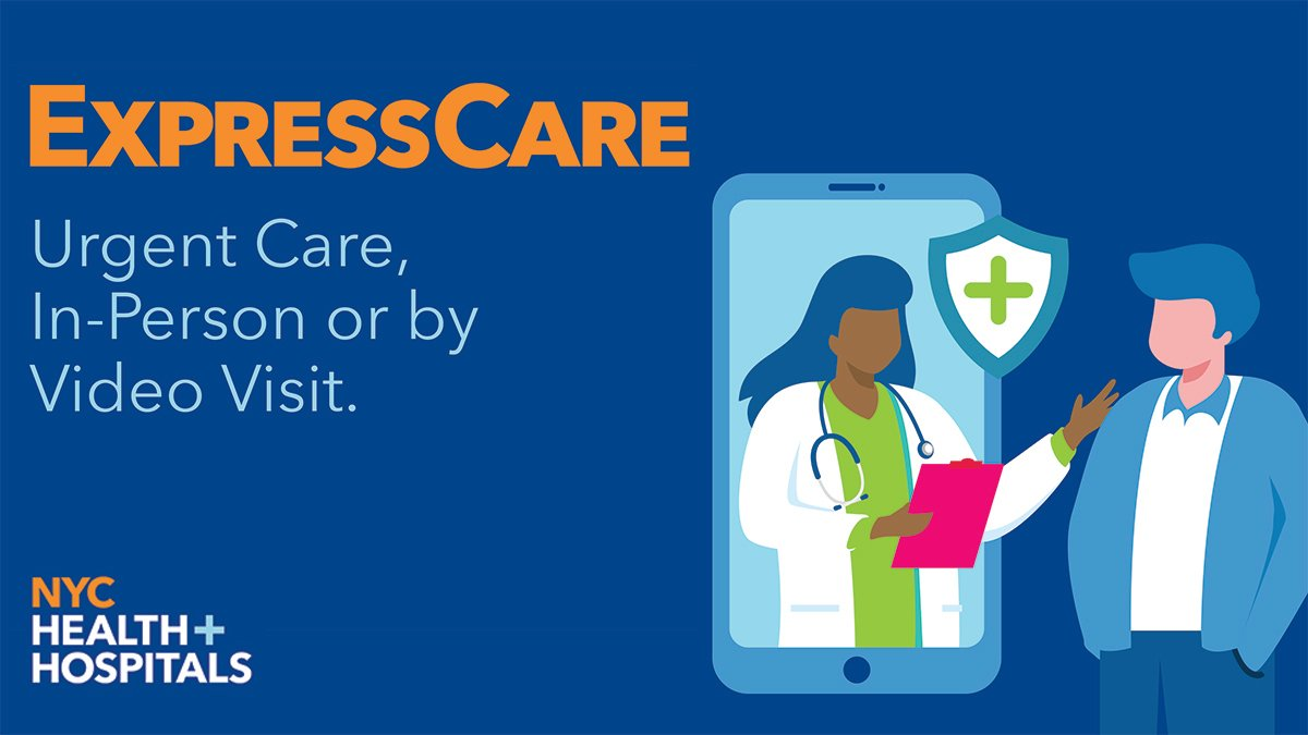 Either by video visit or in person, our #ExpressCare clinics treat: + #COVID19 + Cold and #flu symptoms + Sinus infections + Sore throats + Allergies and #asthma + Minor pains + And so much more! Learn more about our #UrgentCare centers: https://t.co/fp68s7Z85k https://t.co/00YMVRSzy2