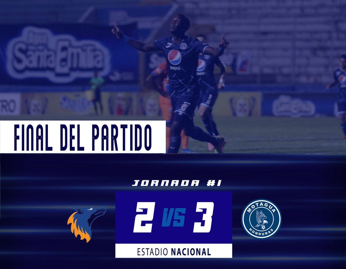 🦅🔵 Motagua debutó en el #Clausura2020 de Honduras 🇭🇳 y se impuso 3-2 a la UPNFM, con gol en el tiempo de reposición.  Rival de Comunicaciones en la #SCL2020 https://t.co/wXIWnDS5b4