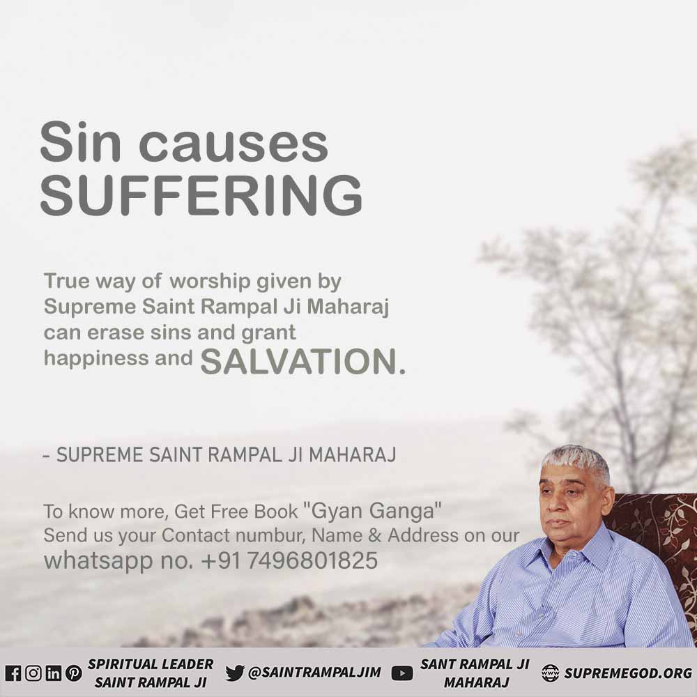 #Solution_To_Suicide 🔸Suicide is not the solution to any problem, but perhaps the suicidal person does not know the terrible pain that will start after the suicide. 🔹Therefore, do not commit such sins even by forgetting Start true devotion by taking refuge of a complete saint.