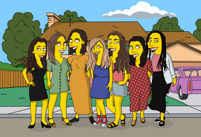 Simpson ladies let's make a beautiful Yellow Portrait💛  Send your pictures here: https://t.co/Huuh5Zn20I  #simpson #ladies https://t.co/XhCuRm0gub