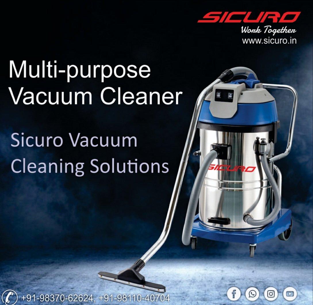 Multi-purpose Vacuum Cleaner, Sicuro Vacuum Cleaning Solutions #Sicuro #CarpetCleaner #SmartCity #SmartIndia #CleaningMachine #MadeinIndia #Hospitality #Hotels #Manufacturers #Vacuum #VacuumCleaner https://t.co/dgRZyULdKf