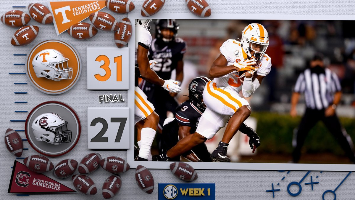 .@Vol_Football closes out the night with a W 💪  #SECFB x #PoweredbytheT https://t.co/I9wX4jL3e9