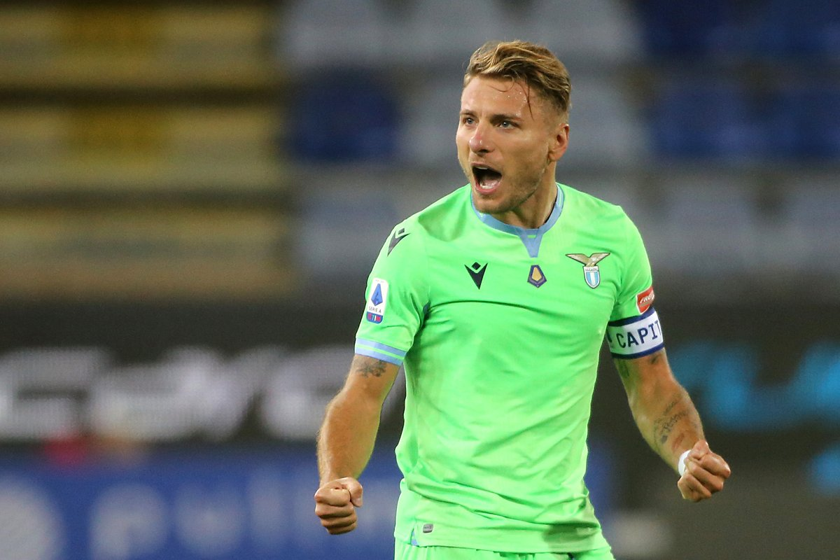 🇮🇹 Immobile has 8 goals in his last 6 Lazio games  🔥  🔝 scorer in Serie A this season = _____________ 🤔  #UCL https://t.co/8E9P09d6Sc
