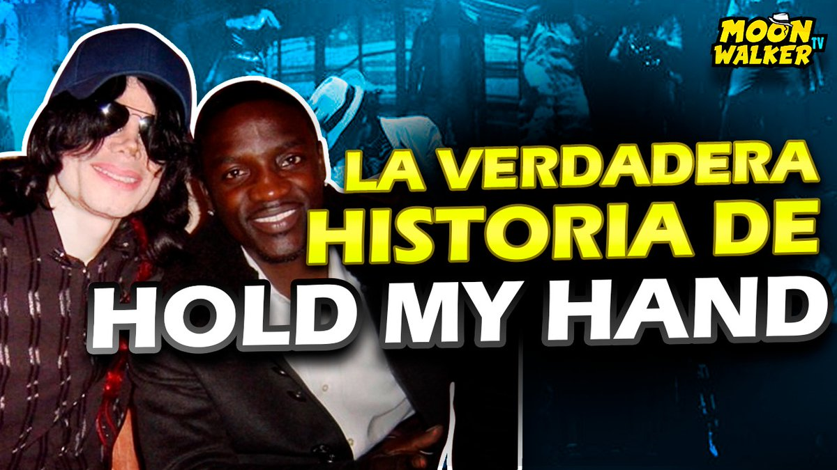 🔥¡Nuevo video en mi canal!🔥 ¡LA INCREÍBLE HISTORIA DE LA CANCIÓN HOLD MY HAND - MICHAEL JACKSON & AKON! ¡No olvides compartir esto con tus amigos y también dejar tu Like! 🥳 👍 Ver video aquí ➡ https://t.co/BxAUw0oZUJ #michaeljackson #moonwalkertv #holdmyhand #akon https://t.co/ZlOoAt9gNX