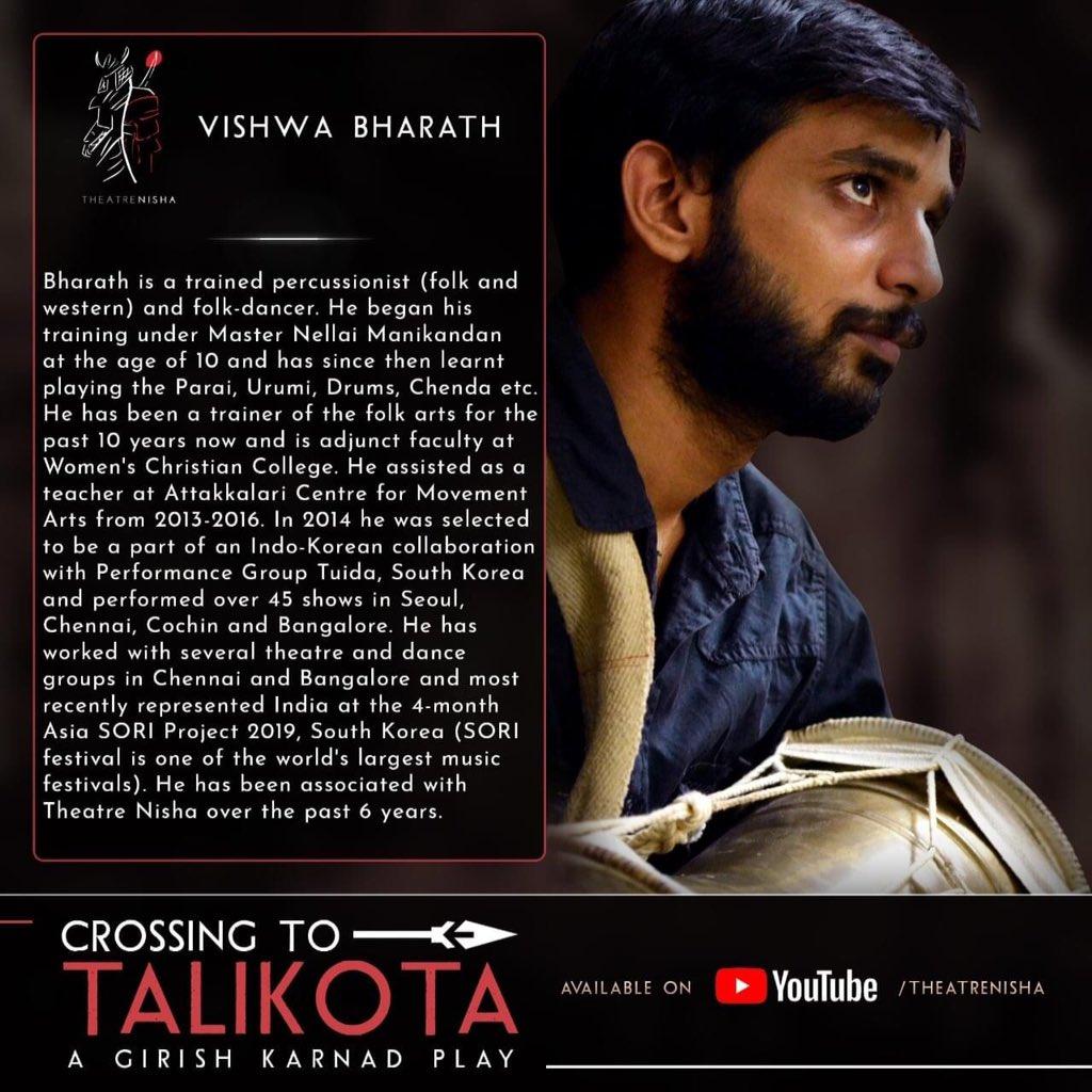 #musicians of Crossing to Talikota  No.2 Vishwa Bharath   #percussion #paraiattam #devarattam #urumi #drums #folkdancer #folkartist #primordial #korea #SORIFESTIVAL #tuida #attakalari #teacher #dancer #theatre #cinema #shortfilms #chennai #southindia #tamizhan https://t.co/rPgAYviG01