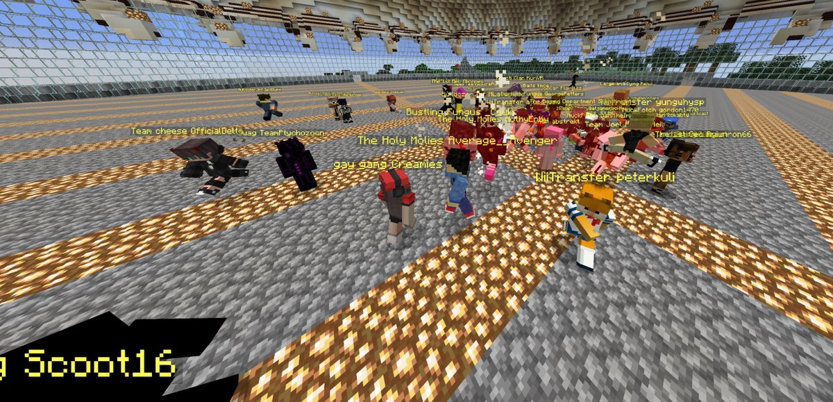 OpenPit - Our speedrun competition is starting in 5 minutes ! Tune in at  to see over 50 players compete in teams of 3 to race to kill the ender dragon !