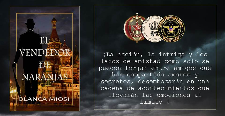 EL VENDEDOR DE NARANJAS  https://t.co/CFHac1S8UL A la venta en Amazon - Digital y papel #KindleUnlimited #Histórica #Acción #Intriga #Suspense ¿Constanza era una espía, una amante consumada o una gitana? #Espionaje #Miami #Seattle #Vancouver #Boston #NYCity #SF #LA https://t.co/Pr4U2uru83