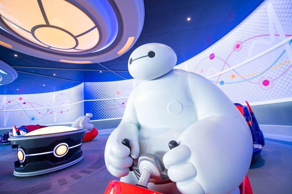 [明日オープン] 東京ディズニーランドの新アトラクション「ベイマックスのハッピーライド」トゥモローランドに誕生 -