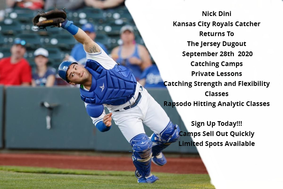 KC Royals Catcher Nick Dini Catching Camps Back At The Jersey Dugout -Limited Space Available - https://t.co/TlB51CMctR #catchers #manalapanbaseball #oldbridgebaseball #hazletbaseball #marlborobaseball https://t.co/aMpIR3E3F5