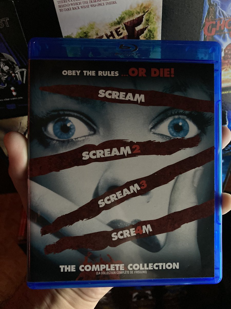 #NowPlaying #Scream3 #AWesCravenFilm #00s #Slasher #Comedy #Horror #Ghostface #ScreamFranchise https://t.co/HjcULcYUUY