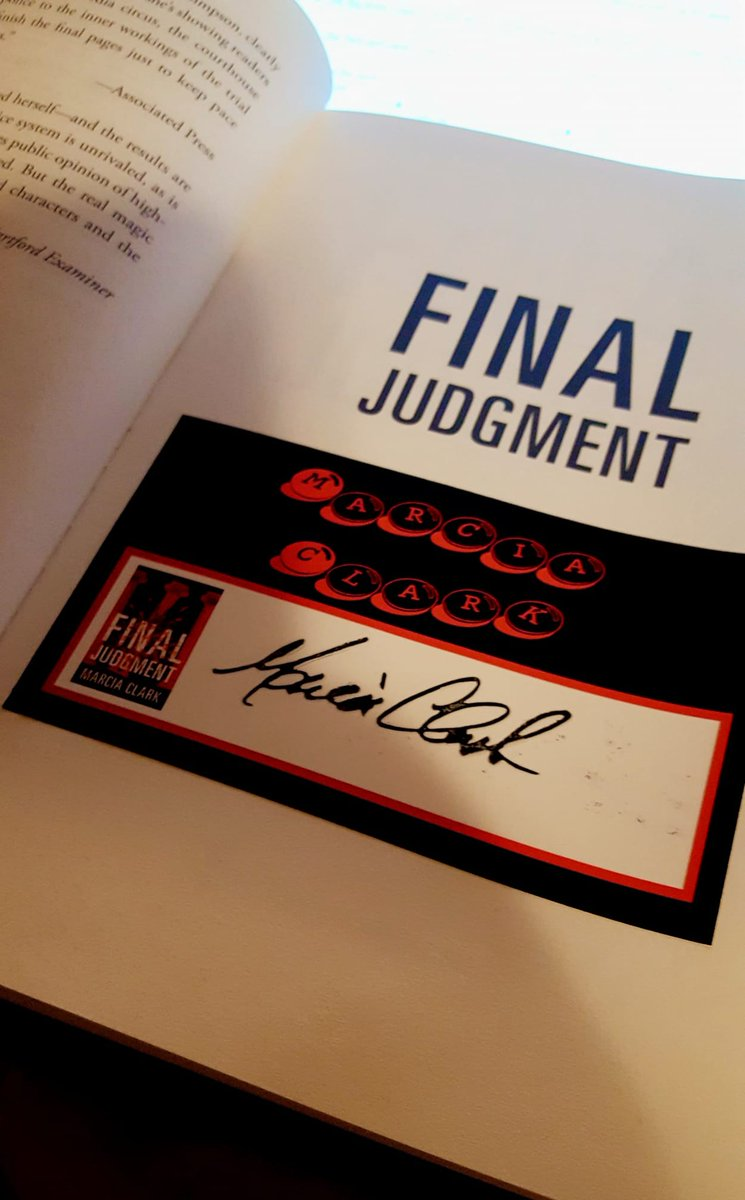 Get 'em while they last! Book Club On the Go (@BookClubCT) still has copies of FINAL JUDGMENT with signed bookplates available for purchase/shipping. 😁📚🖋  https://t.co/ZDsjTf3Qxh  #Books #Fiction #Mystery #Suspense #Thriller #Law #FinalJudgment #SamanthaBrinkman #Signed #Indie https://t.co/OCJpIsVLQ5