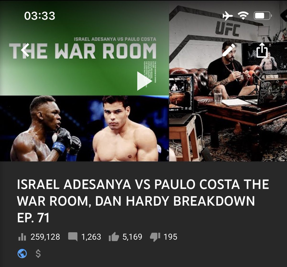 Thanks to everyone that watched and supported our #UFC253 main event #WarRoom 🙏🏼 Over 250k views before the event started! #FullReptile https://t.co/D15VAmcP8E