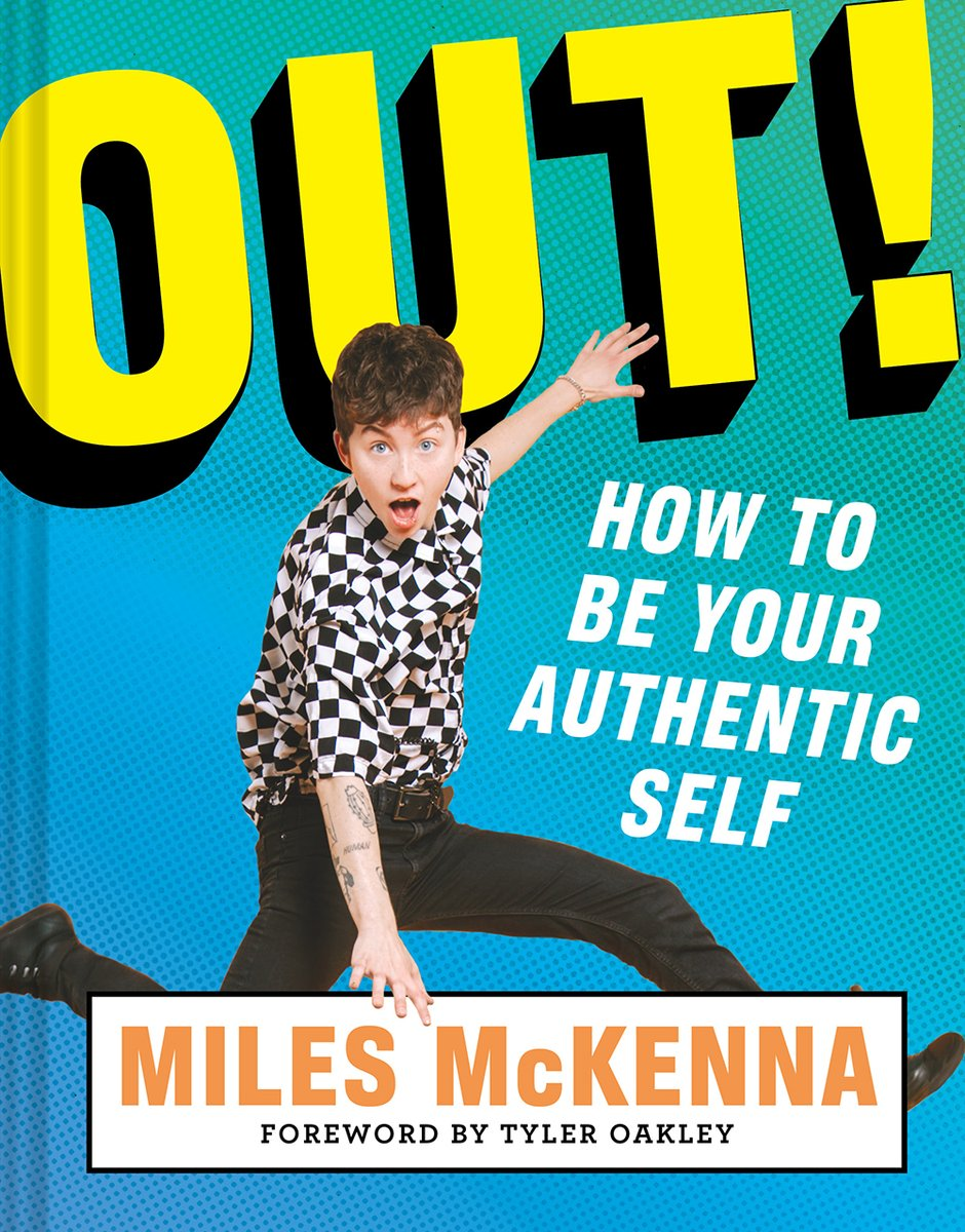 This fall, you'll want to watch out for @TheMilesMcKenna's new book #OutSurvivalGuide, says @WashBlade! https://t.co/E69XD1p0q4 https://t.co/YIwmw4cBcd