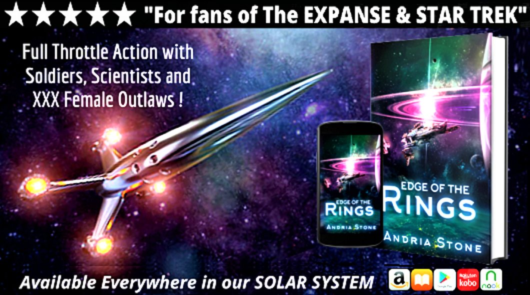 #scifi #scifidaily #scifibooks #sciencefiction #SciFiFri #SpaceOpera #read #Paperback #audiobook #Audible #YA #followfriday #Fiction #writers #ShamelessSelfpromo #ShamelessSelfpromoSaturday  Follow: @andria_mavrek🌟EDGE of the RINGS🌟 🚀Booktrailer: https://t.co/r9S9BjJEOo https://t.co/C6N7wlCNLx