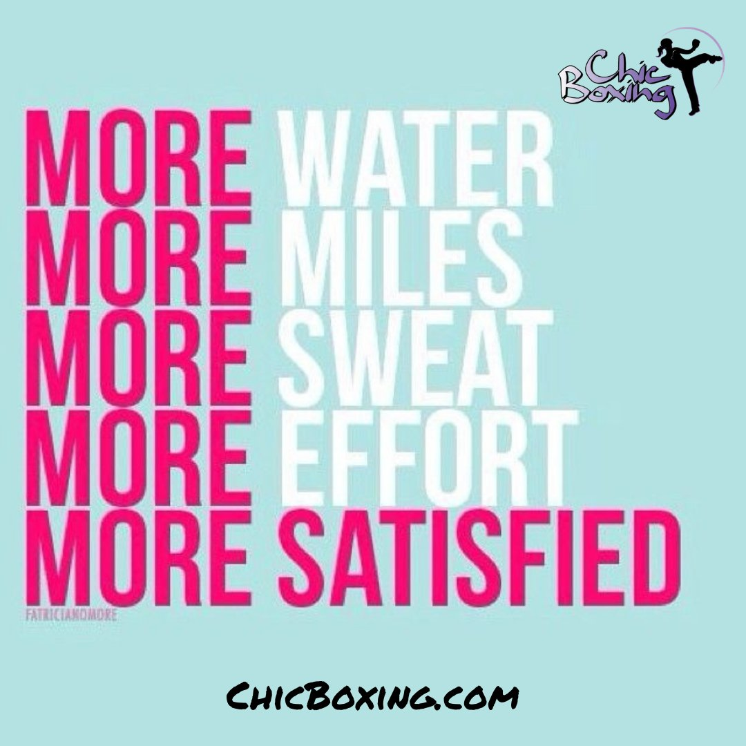 Be more satisfied. 🥊💪👊💜#chicboxing #chicksthatkick #fitfam #kickboxing #fightlikeagirl #kickboxingfitness #strongmom #fullbodyworkout #fitgirl #iamstrong #womenfitness https://t.co/7pYzxRJtmO