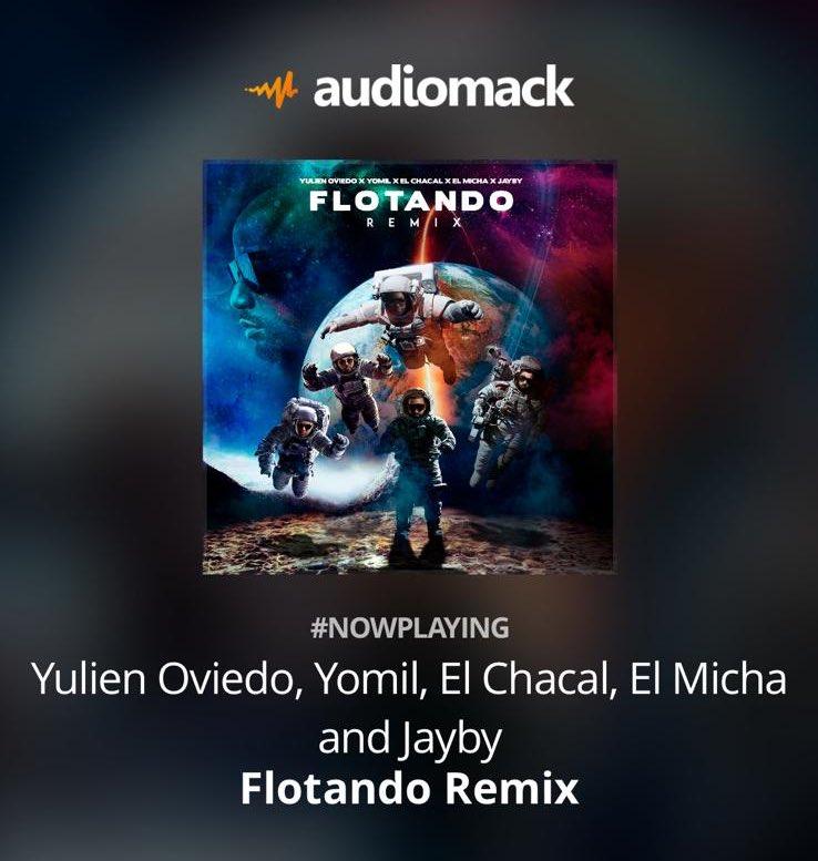 Ya pueden escuchar Flotando remix en la plataforma de la musica Latina mundial @audiomacklatin   Link here: https://t.co/Wngdx1vwaD https://t.co/Q3s0FhxWWX
