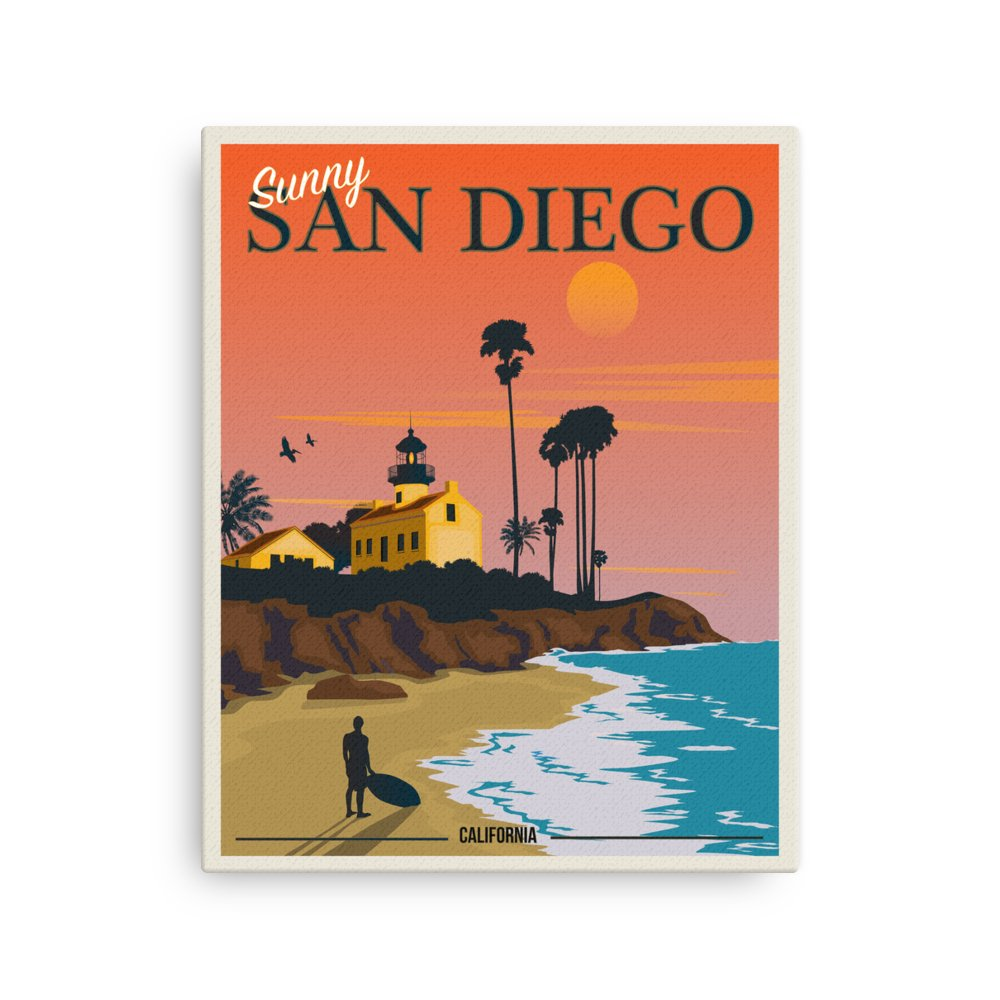 Retweet and Follow to enter our monthly #vintage #travel #poster #giveaway  #Sunny San Diego California Sunset | Vintage Travel Poster | Canvas Print   https://t.co/MWtCMYBMYO   #etsy #vacation https://t.co/LFQPlQkYYp