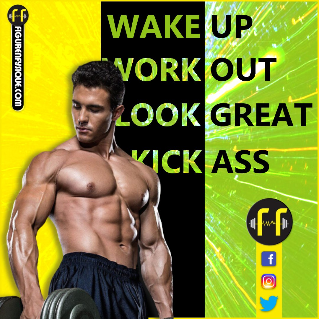 • WAKE UP •  WORK OUT • LOOK GREAT • KICK ASS. #trending #posts #fitness #gym #workout #fitnessmotivation #bodybuilding #training #health #fitfam #sport #crossfit #gymlife #healthy #love #healthylifestyle #personaltrainer #muscle #follow #fnf #facebook #twitter #instagram https://t.co/NHdEgdeAku