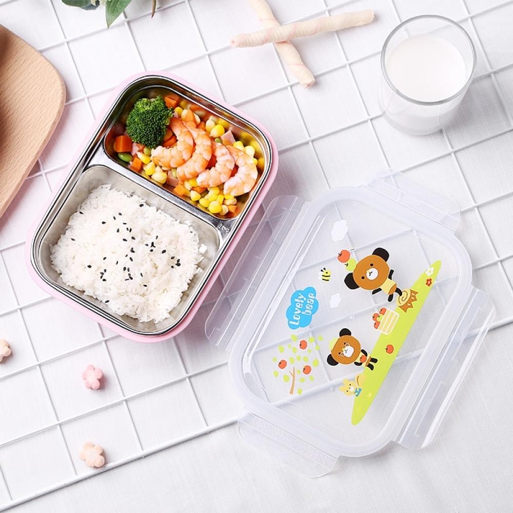 Leakproof Stainless Steel Lunch Box for Kids #ecofashion #ecology https://t.co/XzoE8etrum https://t.co/V5gBHpu0Av