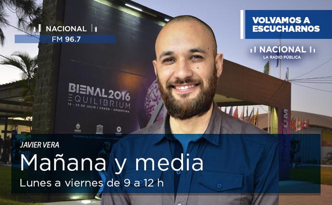🎙️#Aire Arranca #MañanaYMedia con @javier_jvera y  @noesmoreyra hasta las 12! 📻Quedate en https://t.co/tRPTPse83a y FM96.7 https://t.co/GO2eHwm5SW