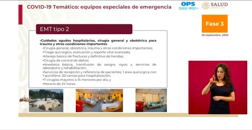 @SSalud_mx 📌 #AlMomento El EMT Tipo 2 debe tener:   🔹 Debe contar con una instancia quirúrgica  🔹 Realizar 7 cirugías mayores 0 15 menores por día   🔹 Contar con al menos 20 camas de hospitalización  🔹 Su horario de trabajo debe ser de 24 horas   https://t.co/zvjfHlUqxq https://t.co/MNrBkLv5aC