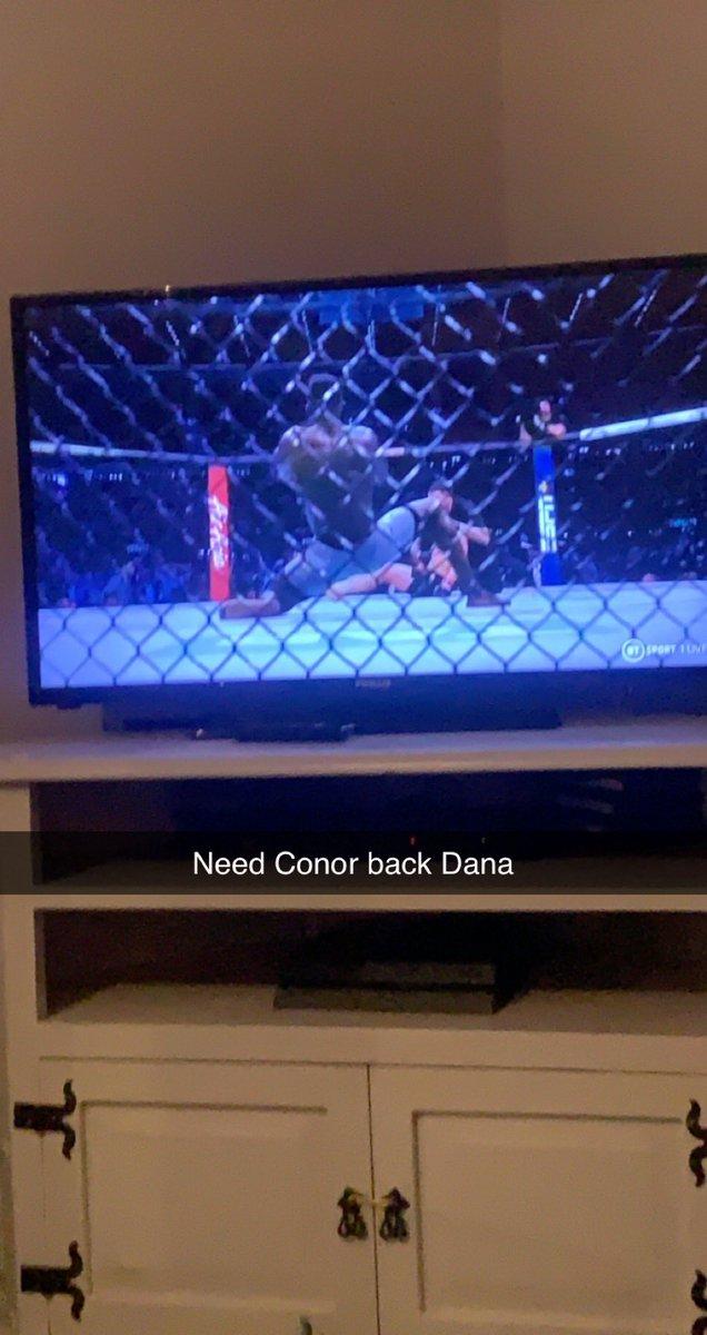 @TheNotoriousMMA @danawhite @dillondanis it's not the same we need the master #McGregor #Ireland #crowpark https://t.co/Vy9HpOu9P4