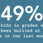 Image for the Tweet beginning: 49% of kids in grades