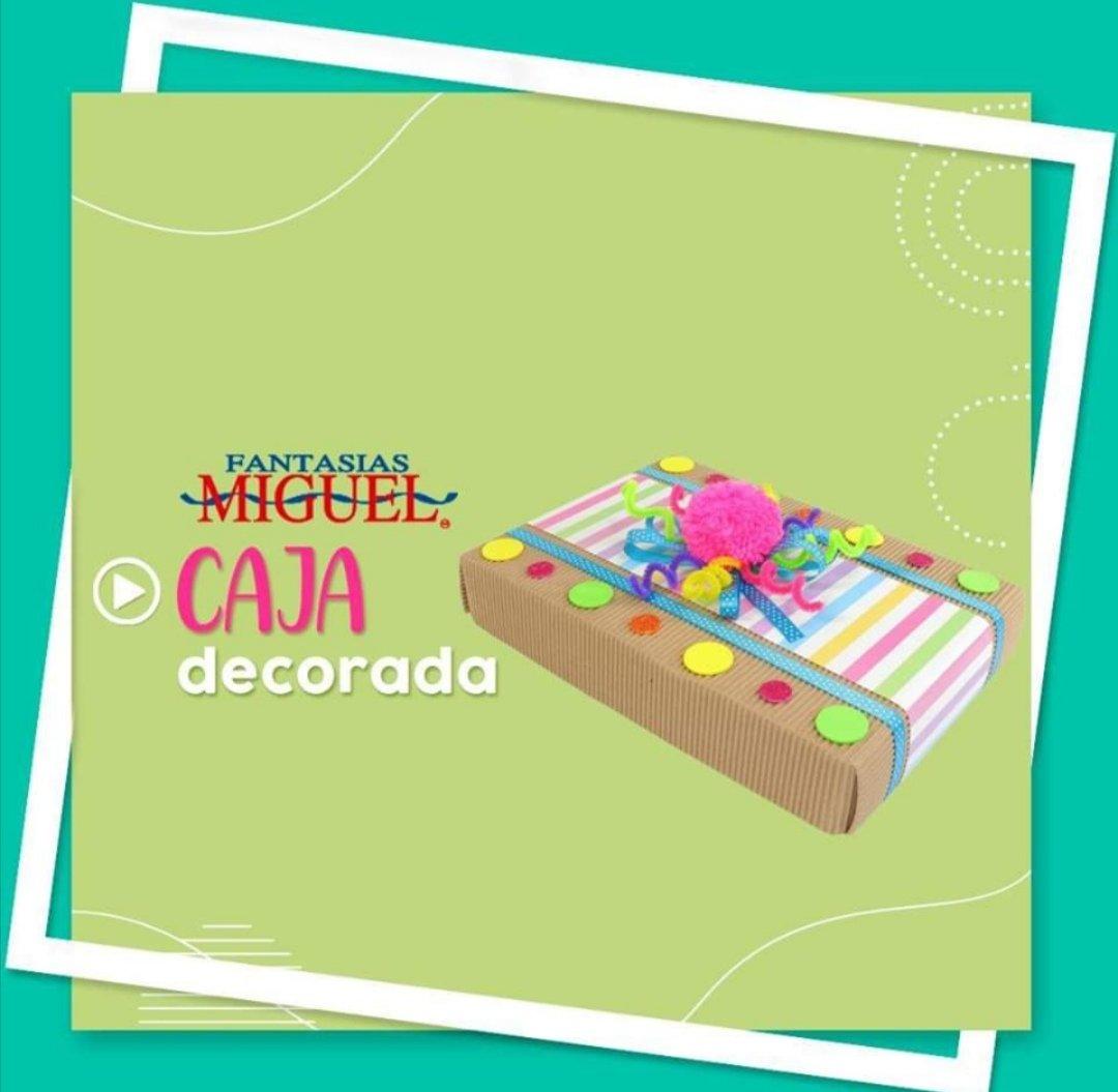 ¿Ya tienes tu producto estrella? ¡Dale un toque especial con cajas decoradas y GANA más! https://t.co/7ctYEijBF3 @FantasiasMiguel #PradoNorte #Lomas #hazloconfantasiasmiguel #ventas #materiales #ideasparavender #ideasparaganardinero https://t.co/YTTTQWDeNN