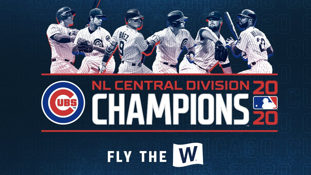 Replying to @Cubs: The Chicago Cubs are your 2020 NL Central Champions!