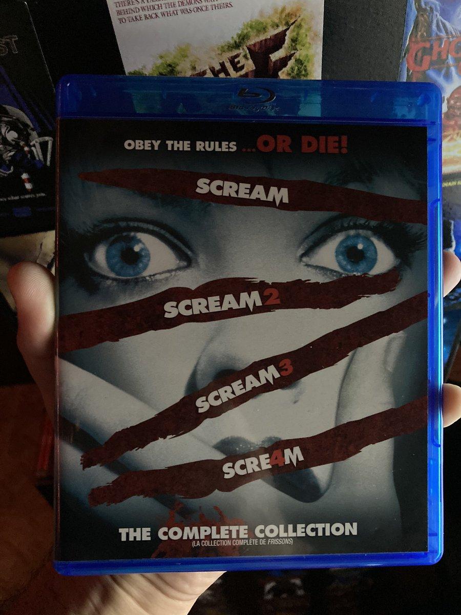 #NowPlaying #Scream4 #AWesCravenFilm #00s #Slasher #Horror #Ghostface #ScreamFranchise https://t.co/Udn8z82MMp
