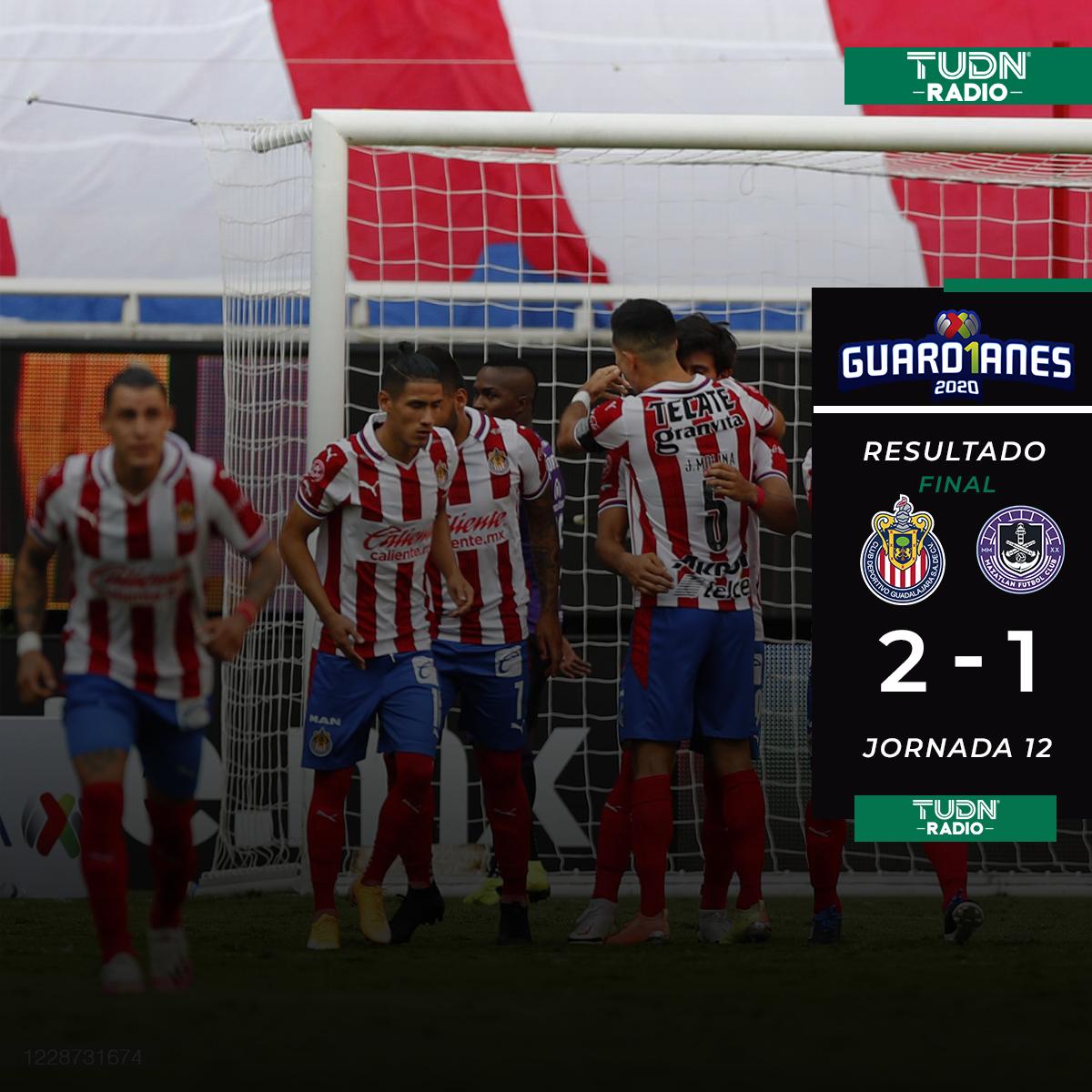 ¡GANARON LAS CHIVAS! 👏😍🐐✨🔵⚪🔴 ¡GANÓ EL EQUIPO MÁS QUERIDO DE MÉXICO! 👏😍🐐✨🔵⚪🔴 ¡LA VICTORIA ES ROJIBLANCA! 👏😍🐐✨🔵⚪🔴 :: :: :: #chivas #chivas2020 #molina #guard1anes2020 #ligamx #futbol #futbolmexicano #jjmacias #macias #mazatlan #VolverteAVer https://t.co/znnQChXI3g