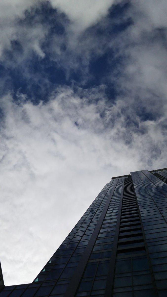 昨日 たくさん歩いたのに  今日も 大阪駅まで  歩き🚶  主人のお付き合い😋😋  朝は青空出ていたのに 今は  どんより曇っている☁️  風はあって 気持ちいい  #お散歩 #大阪駅周辺 #helloagain https://t.co/GBtYDTjoTJ