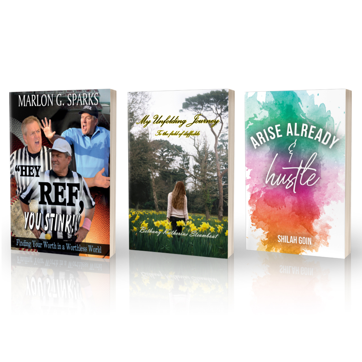 NEW BOOKS!!! Marlon G. Sparks: https://t.co/AQKsvRL7Ed  Shilah Goin: https://t.co/tueZdQZlIJ  Bethany Katherine Steamboat: https://t.co/1agc5Y4q8l ---Have you ever dreamed of being an author? @TBN & @trilogybooks want to help! Follow us and go to https://t.co/t7CoiqZM7A now https://t.co/izpFBKE26w