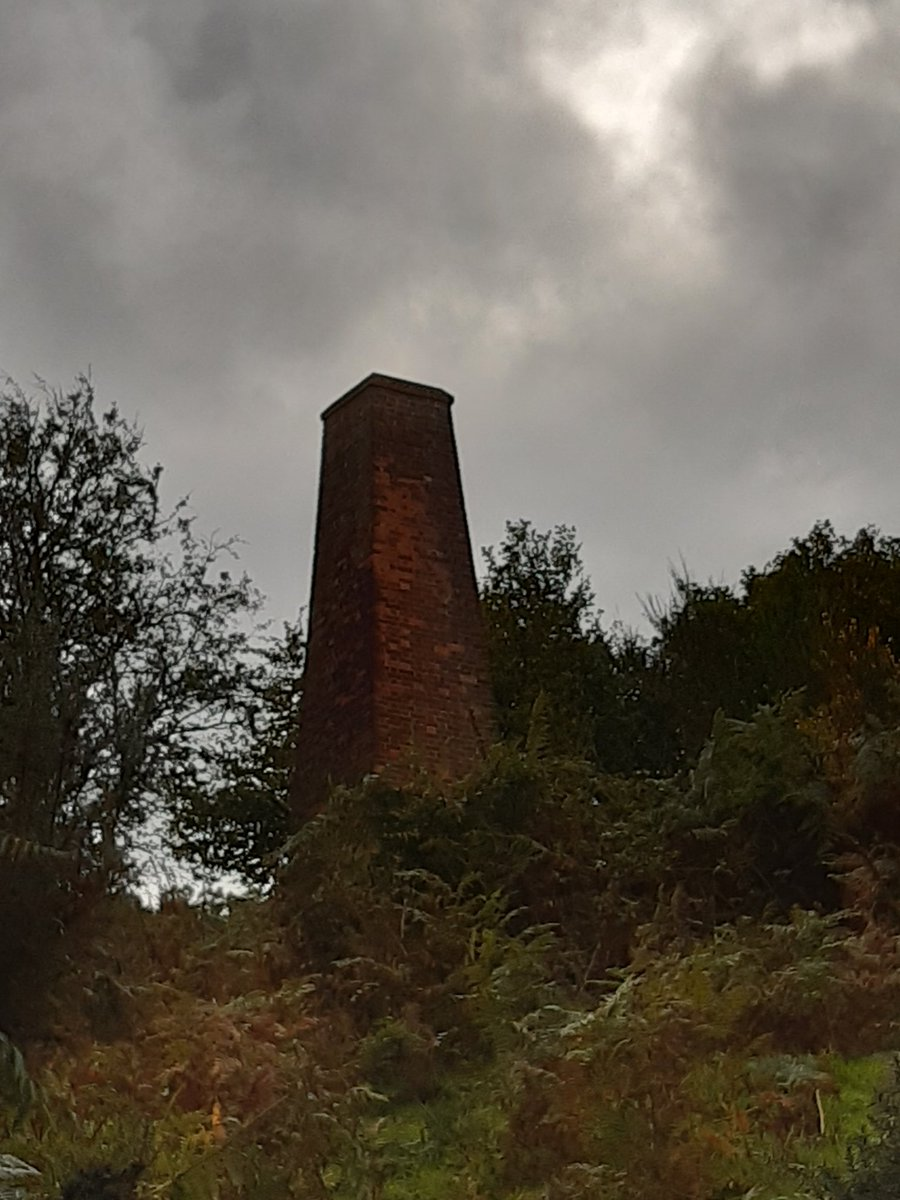 Chimney part of the old lead mine at the Hollies Shropshire. https://t.co/89DRFwJL4M
