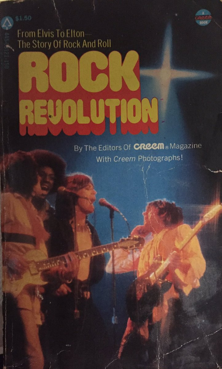 BOOK OF THE DAY: Lively 1976 collection of pieces on Rock history by writers of late lamented #Creem magazine including #DaveMarsh #LesterBangs #RichardRobinson #classicrock #rocknroll #1970s #1960s #1950s #MusicHistory #LittleRichard https://t.co/9RzJsMFTEG