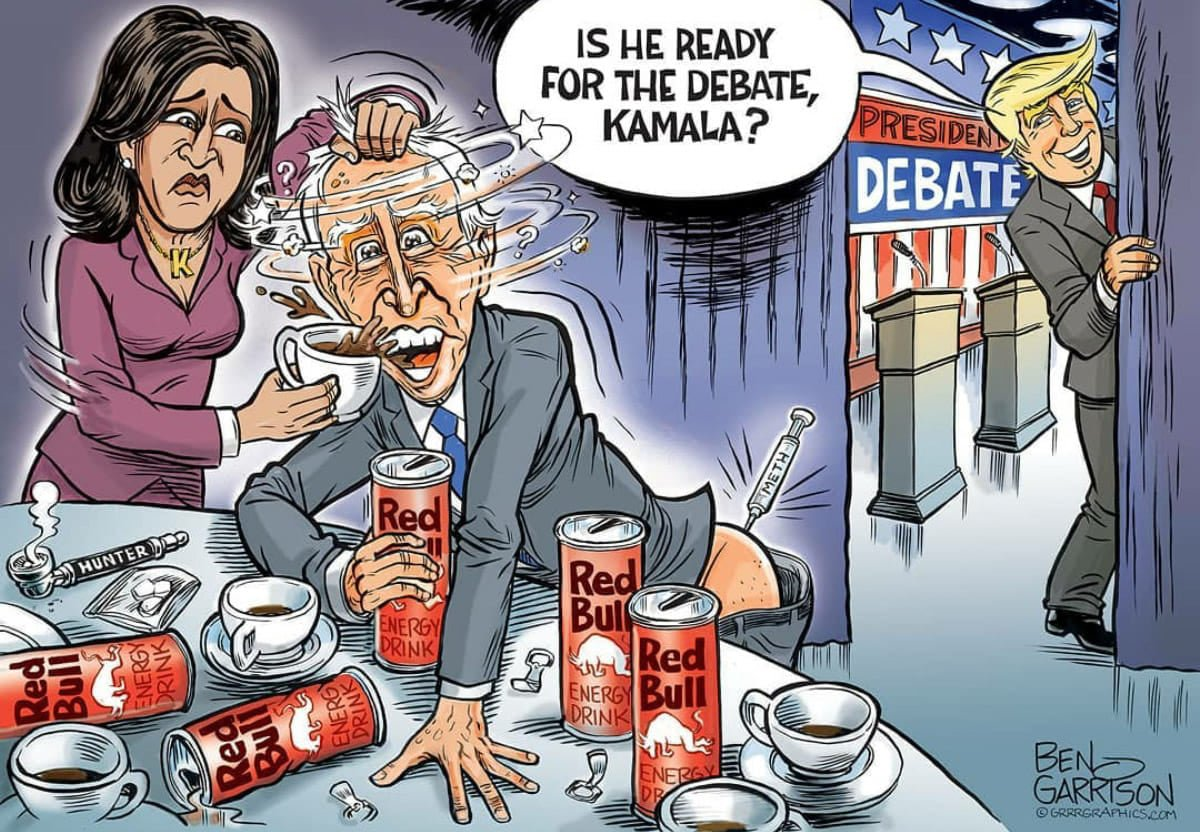 Nothing will make Biden ready for the debate. He is going to get chewed up and spit out! @realDonaldTrump https://t.co/7NNnGmep1j